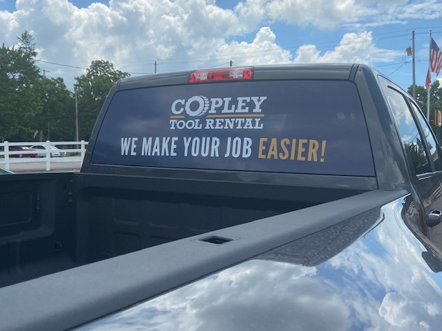 Copley Truck Vinyl